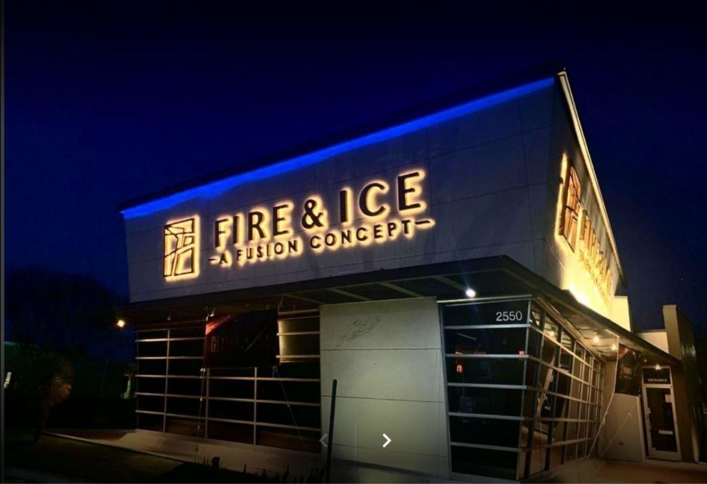 best restaurant in Frisco fire and ice exterior